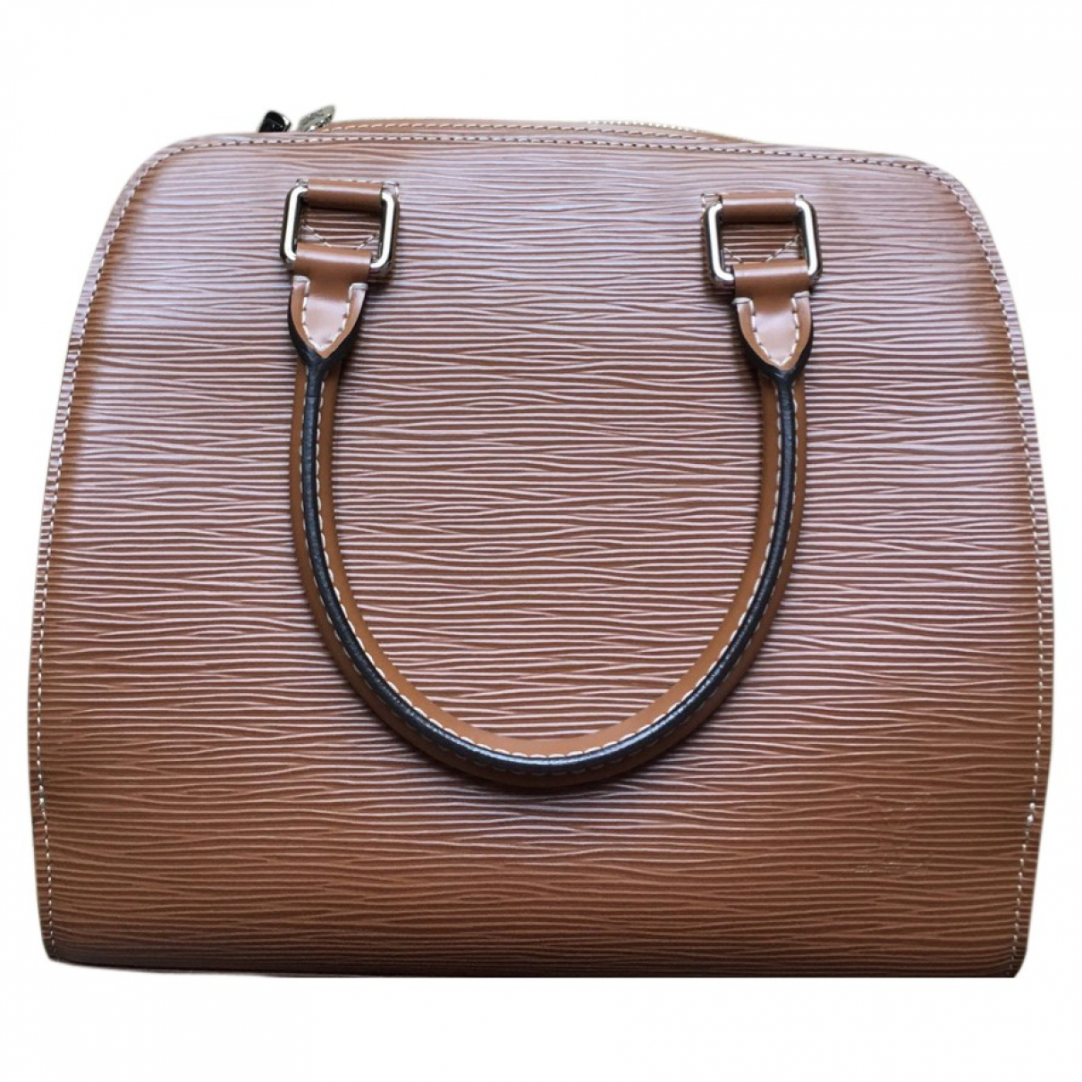 Louis Vuitton Pont Neuf Handtasche in  Kamel Leder