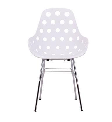 ER 100-KT-1502C-WDH Dimple Chair with Cut-Out Holes in