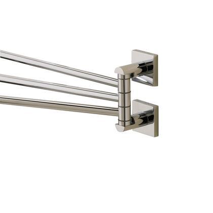 Braga 67670NI Adjustable Towel Rail 4 3/8