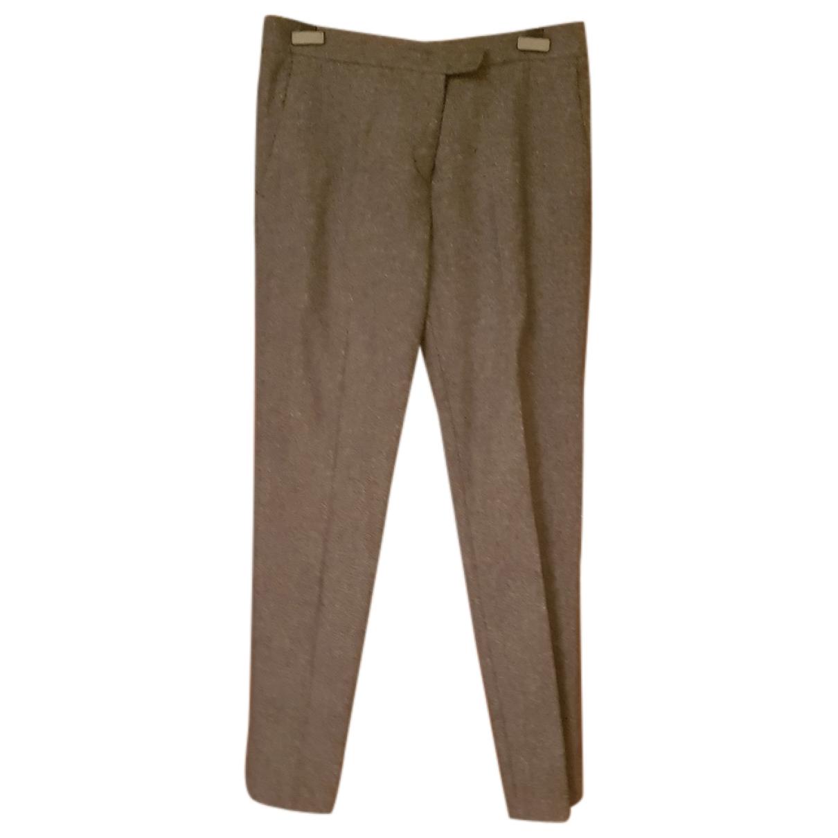 See By Chloe - Pantalon   pour femme en laine - gris