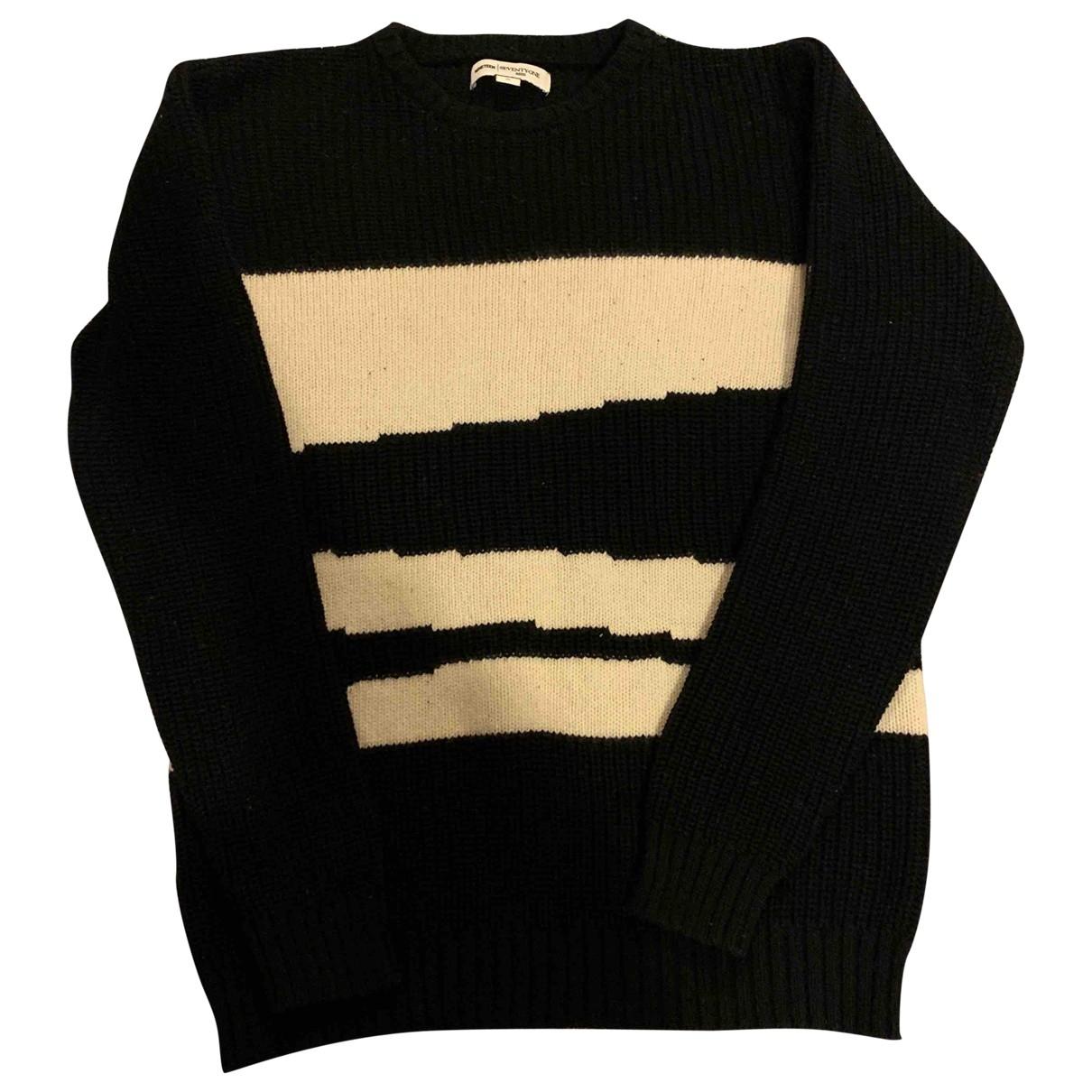 Reiss \N Pullover.Westen.Sweatshirts  in  Schwarz Baumwolle