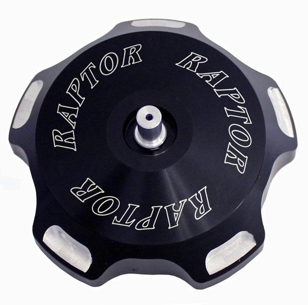 ModQuad GC1-RBLK Gas Cap Raptor Logo Black