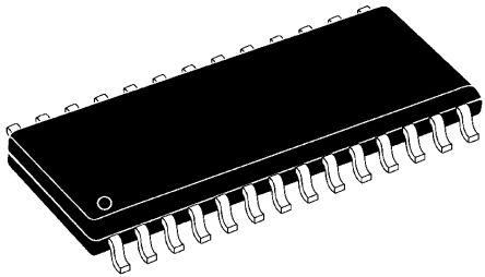 Microchip PIC18F242-I/SO, 8bit PIC Microcontroller, PIC18F, 40MHz, 16 kB Flash, 28-Pin SOIC