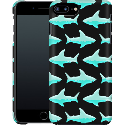 Apple iPhone 8 Plus Smartphone Huelle - Neon Sharks  von caseable Designs