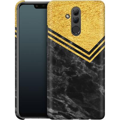 Huawei Mate 20 Lite Smartphone Huelle - Gold Marble von caseable Designs
