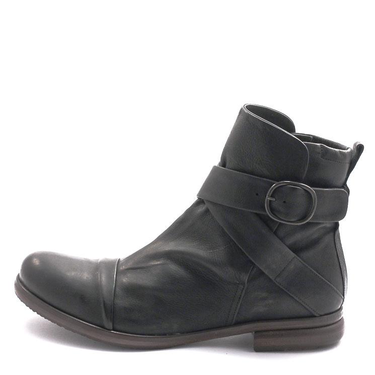 P. Monjo, P-163 Bowie Men's Bootees, black Größe 45