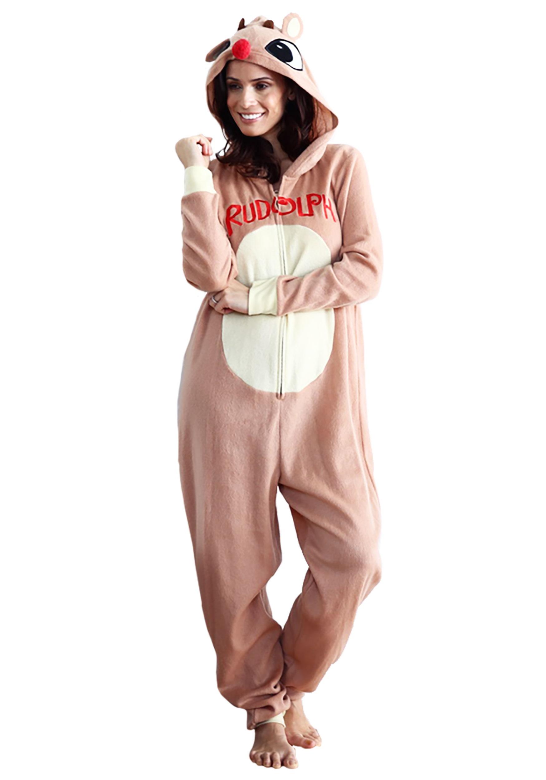 Rudolph Pajama Onesie or Women