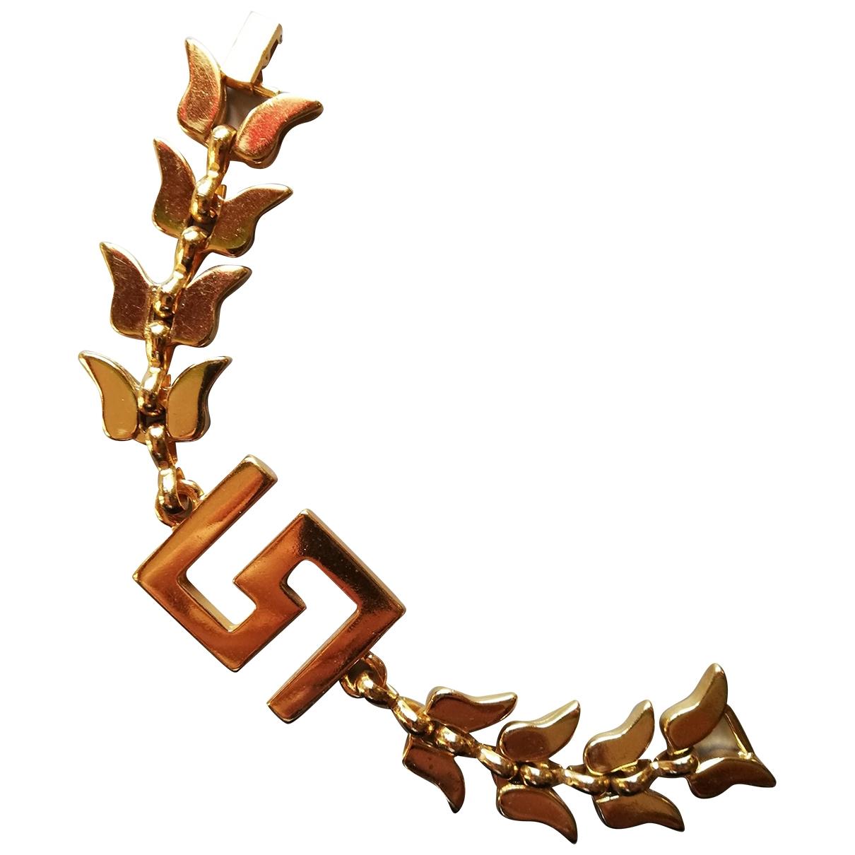 M1992 - Bracelet   pour femme en metal - dore