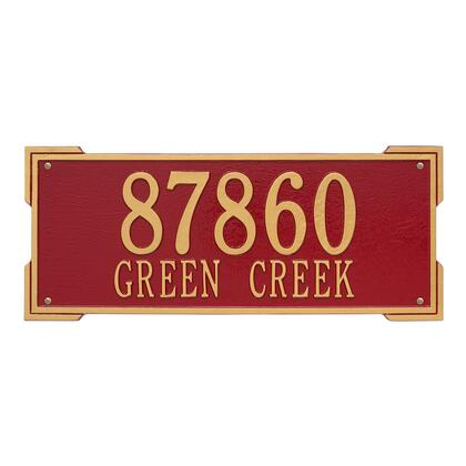 1020RG Personalized Roanoke Plaque - Estate -Wall - 2 Line in
