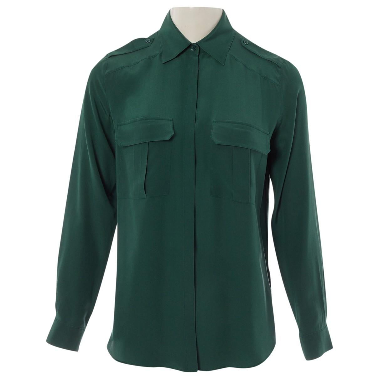 Deitas \N Green Silk  top for Women 36 FR