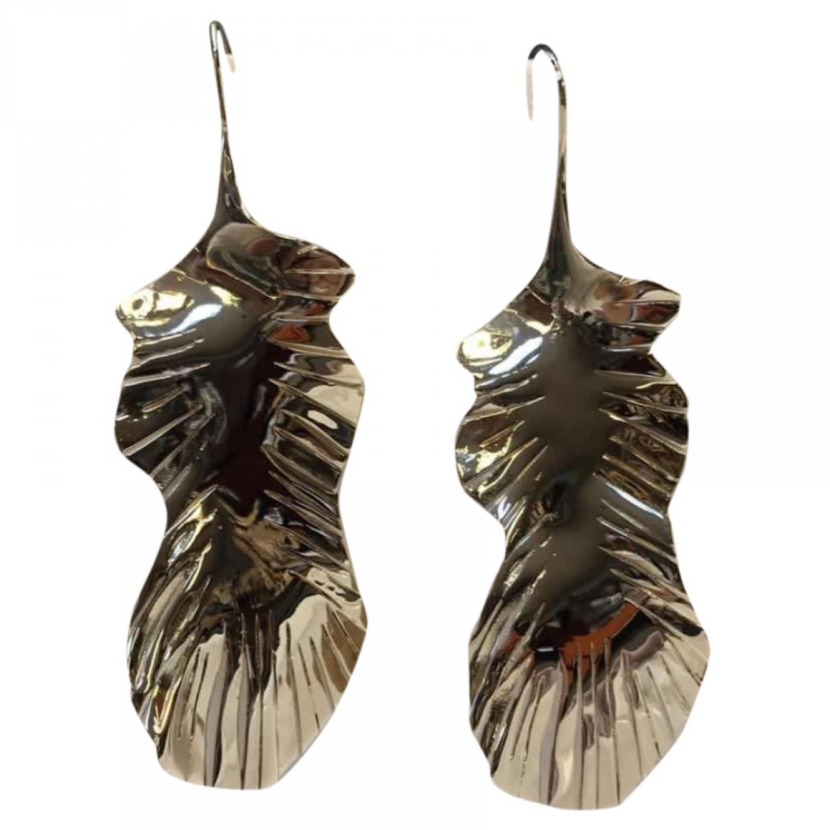 Valentino Garavani \N OhrRing in  Silber Metall