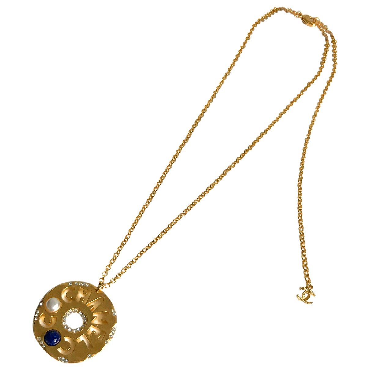 Chanel CHANEL Kette in  Gold Metall