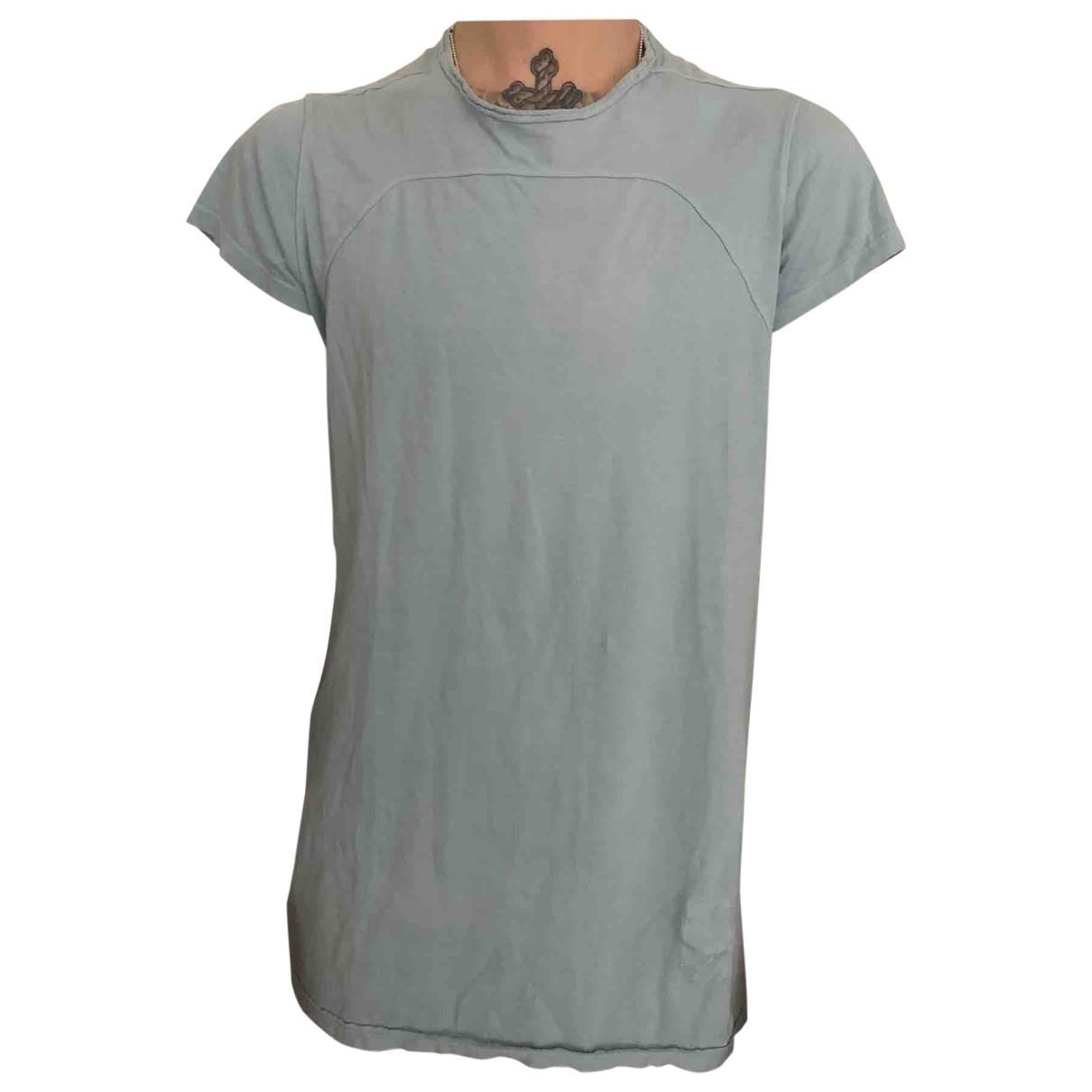 Rick Owens Drkshdw \N Blue Cotton T-shirts for Men M International