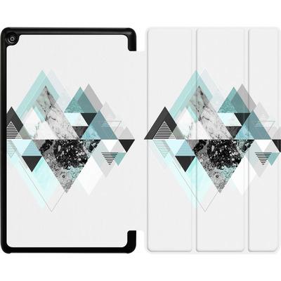 Amazon Fire HD 8 (2017) Tablet Smart Case - Graphic 110 - Turquoise von Mareike Bohmer