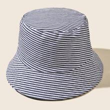 Striped Pattern Bucket Hat