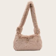 Fluffy Baguette Bag