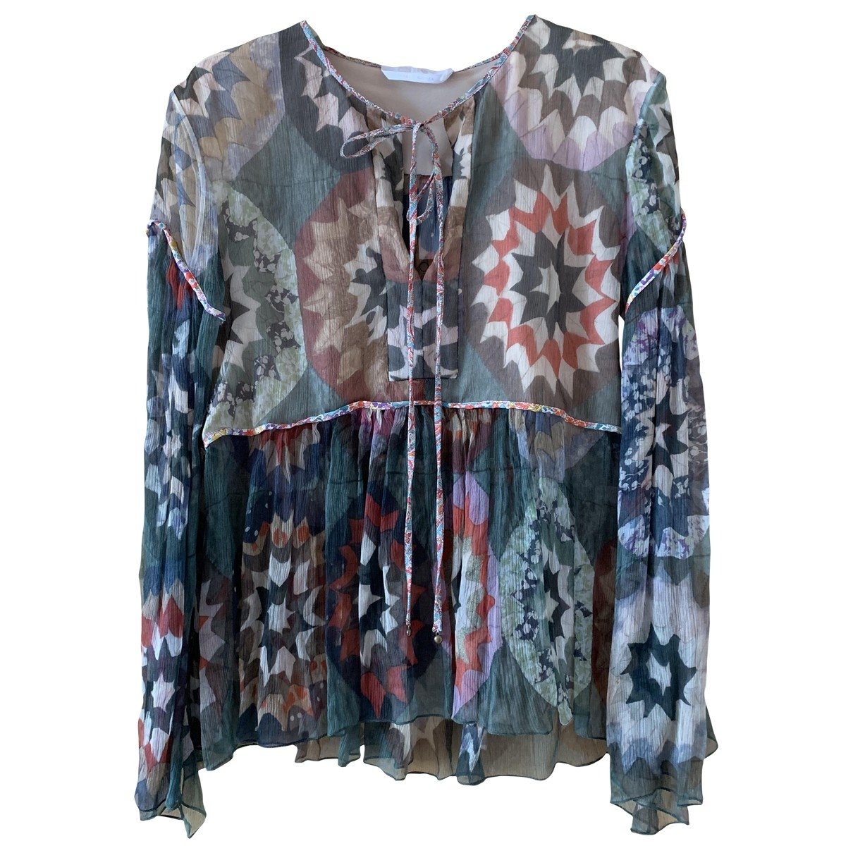 Chloé \N Multicolour Silk  top for Women 36 FR
