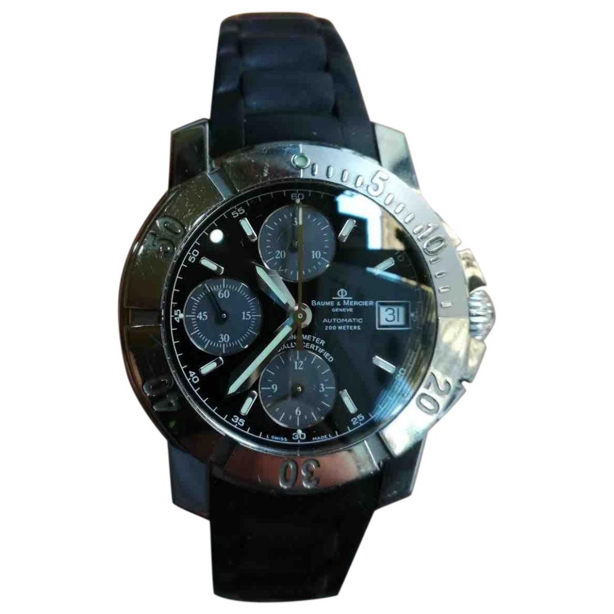 Baume Et Mercier Capeland Uhr in  Schwarz Stahl
