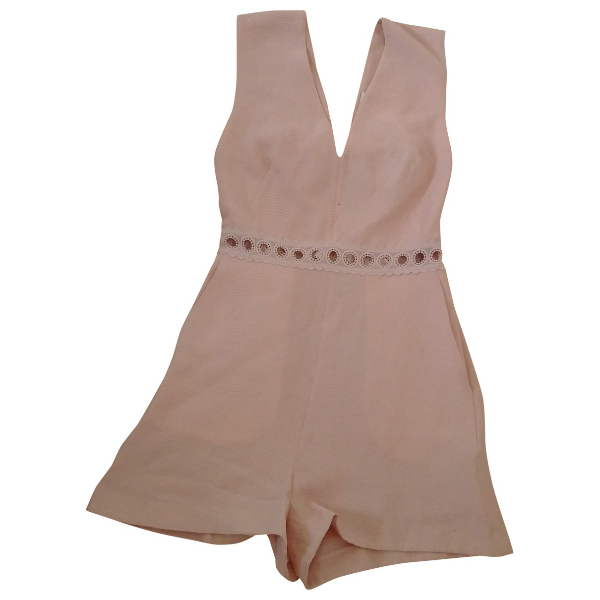 Sandro \N Pink jumpsuit for Women 36 FR