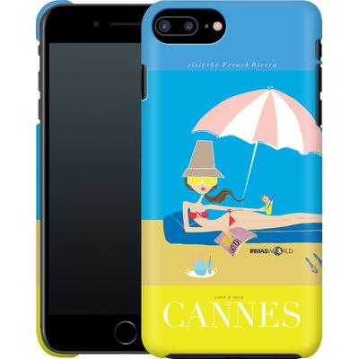 Apple iPhone 7 Plus Smartphone Huelle - CANNES TRAVEL POSTER von IRMA