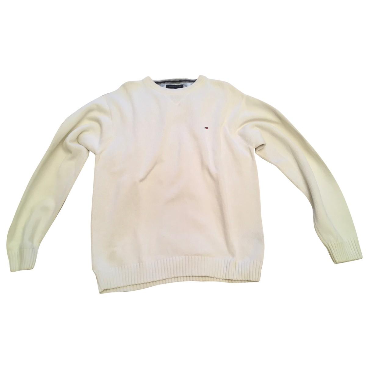 Tommy Hilfiger \N White Cotton Knitwear & Sweatshirts for Men XL International