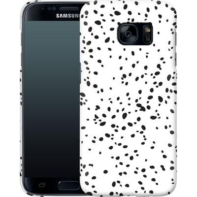 Samsung Galaxy S7 Smartphone Huelle - Carib Dot von Khristian Howell