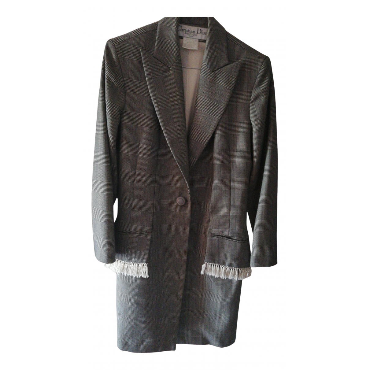 Dior - Veste   pour femme en laine - noir