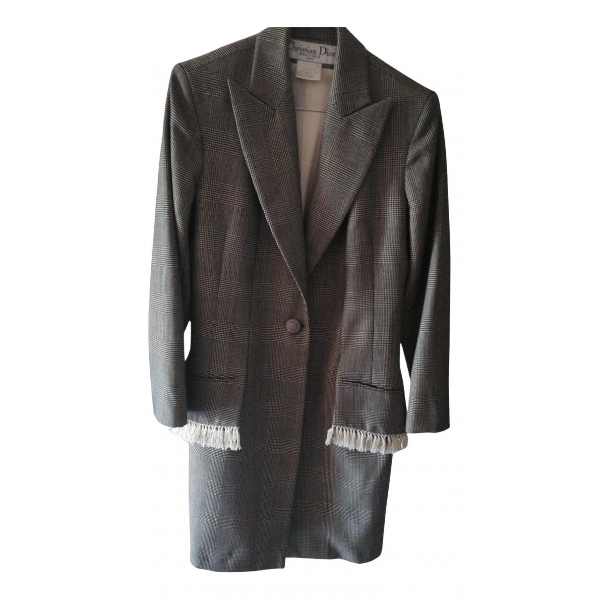 Dior N Black Wool jacket for Women 38 FR