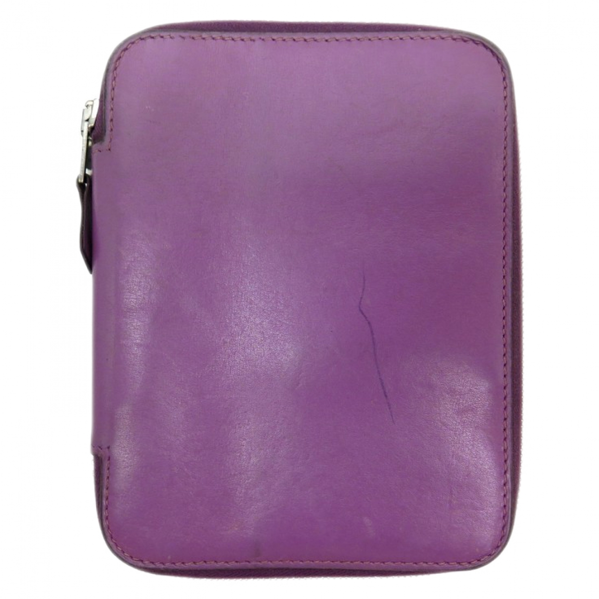 Hermès Silk'in Purple Leather Purses, wallet & cases for Women \N