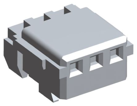 TE Connectivity 3-Way IDC Connector Socket for Cable Mount, 1-Row (25)