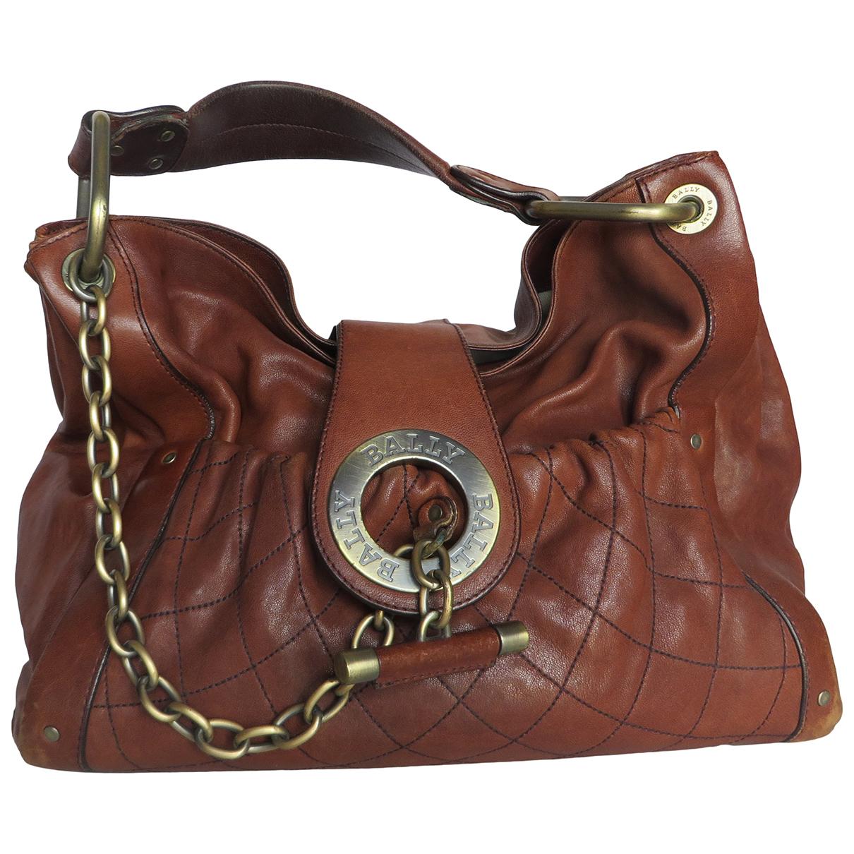 Bally \N Brown Leather handbag for Women \N
