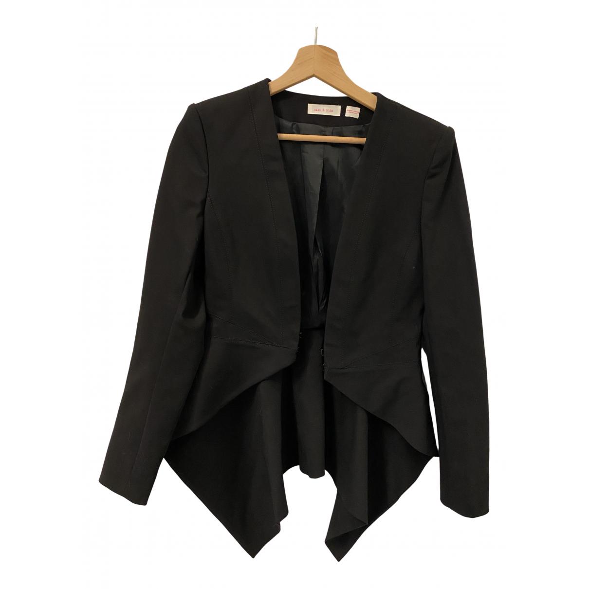 Sass & Bide - Veste   pour femme en coton - noir