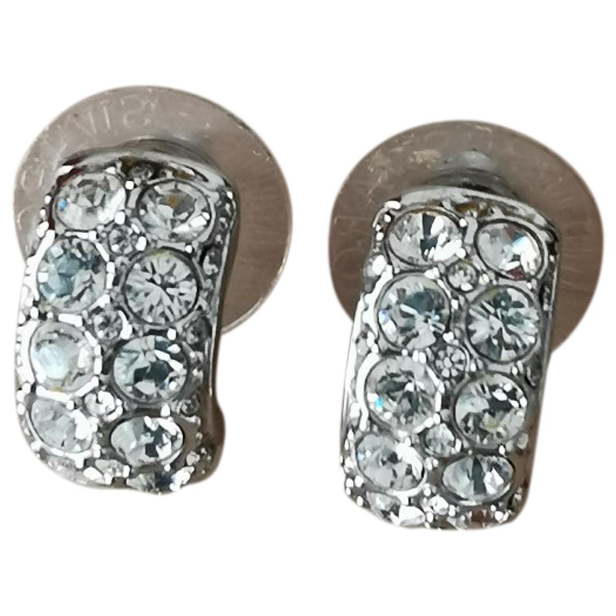 Swarovski \N OhrRing in  Metallic Kristall