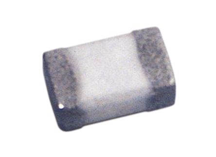 Wurth Elektronik Wurth WE-MK Series 1.2 nH Ceramic Multilayer SMD Inductor, 0603 (1608M) Case, SRF: 17GHz Q: 8 600mA dc 100mΩ Rdc (25)