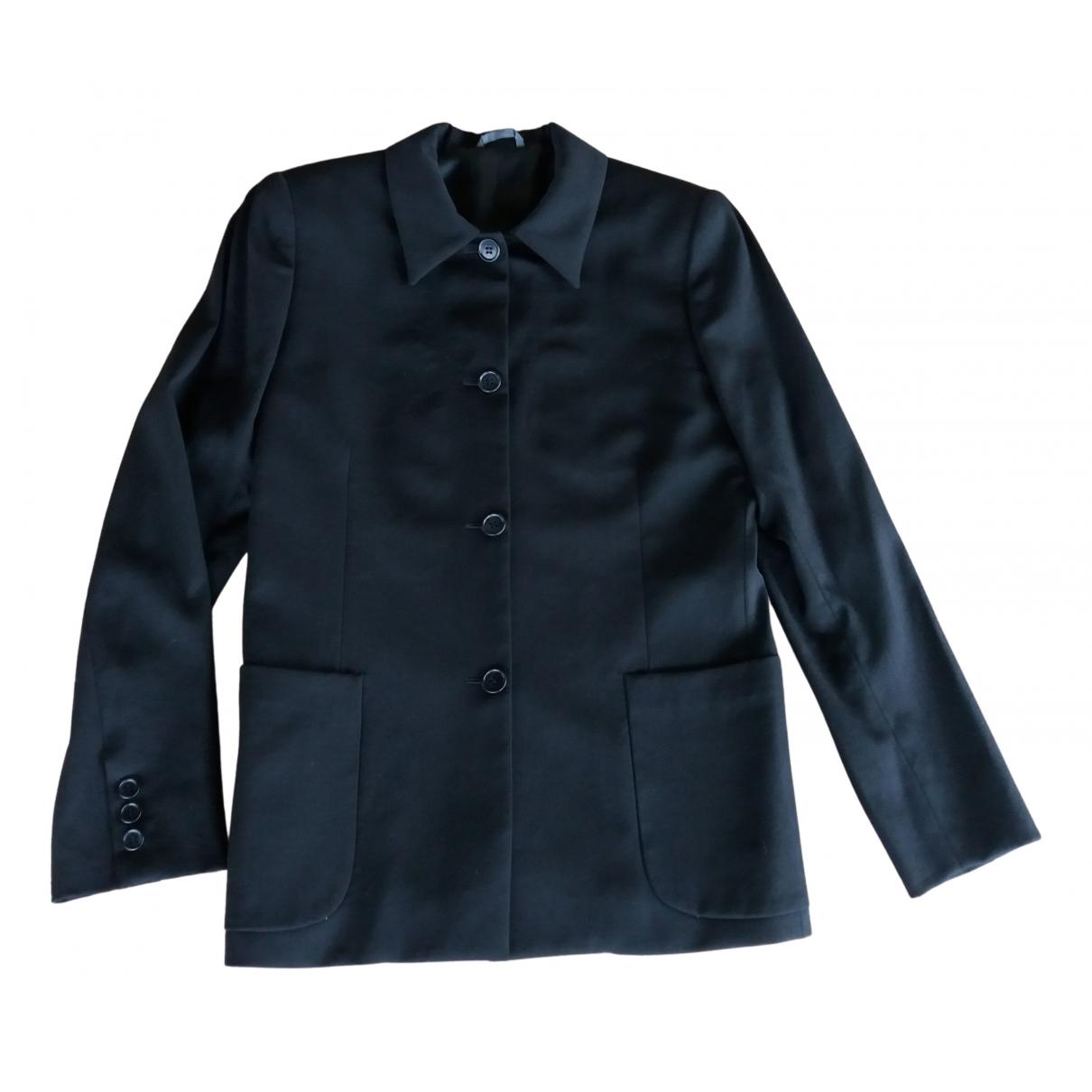 Tombolini - Veste   pour femme en laine - noir