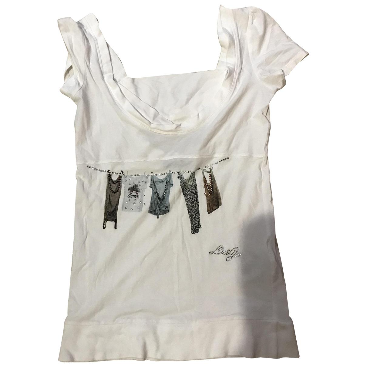 Liu.jo \N White Cotton  top for Women 44 IT