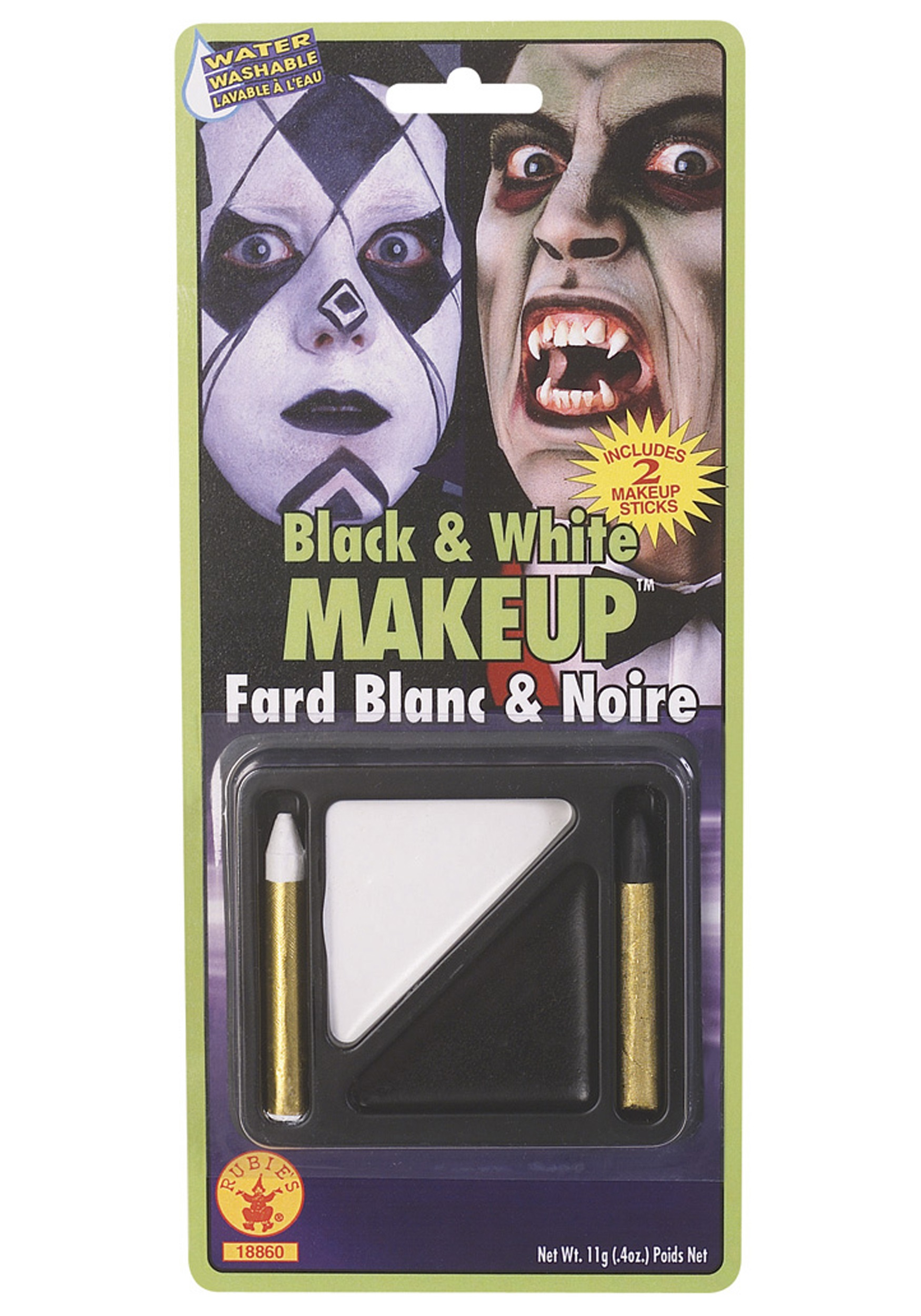 Washable Vampire Makeup