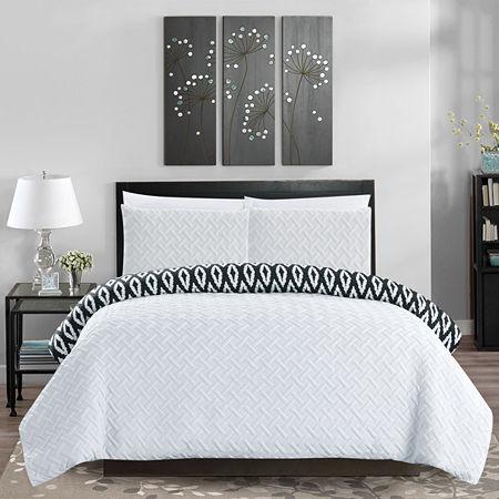 Chic Home Ora Comforter Set, One Size , White