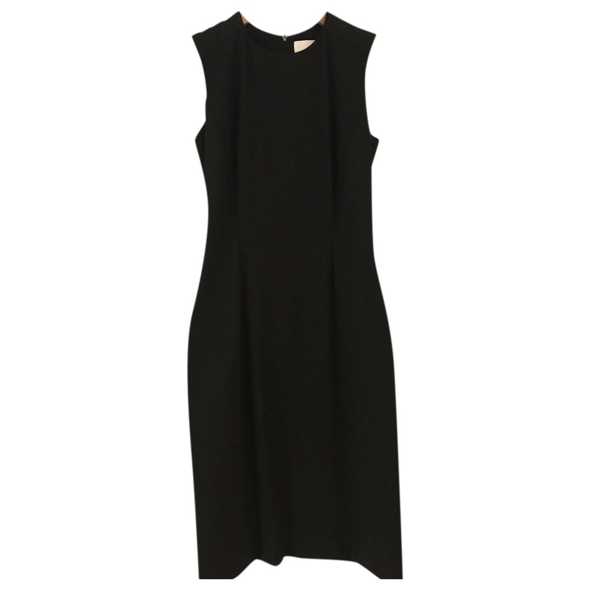 Hugo Boss N Black Wool dress for Women 40 IT