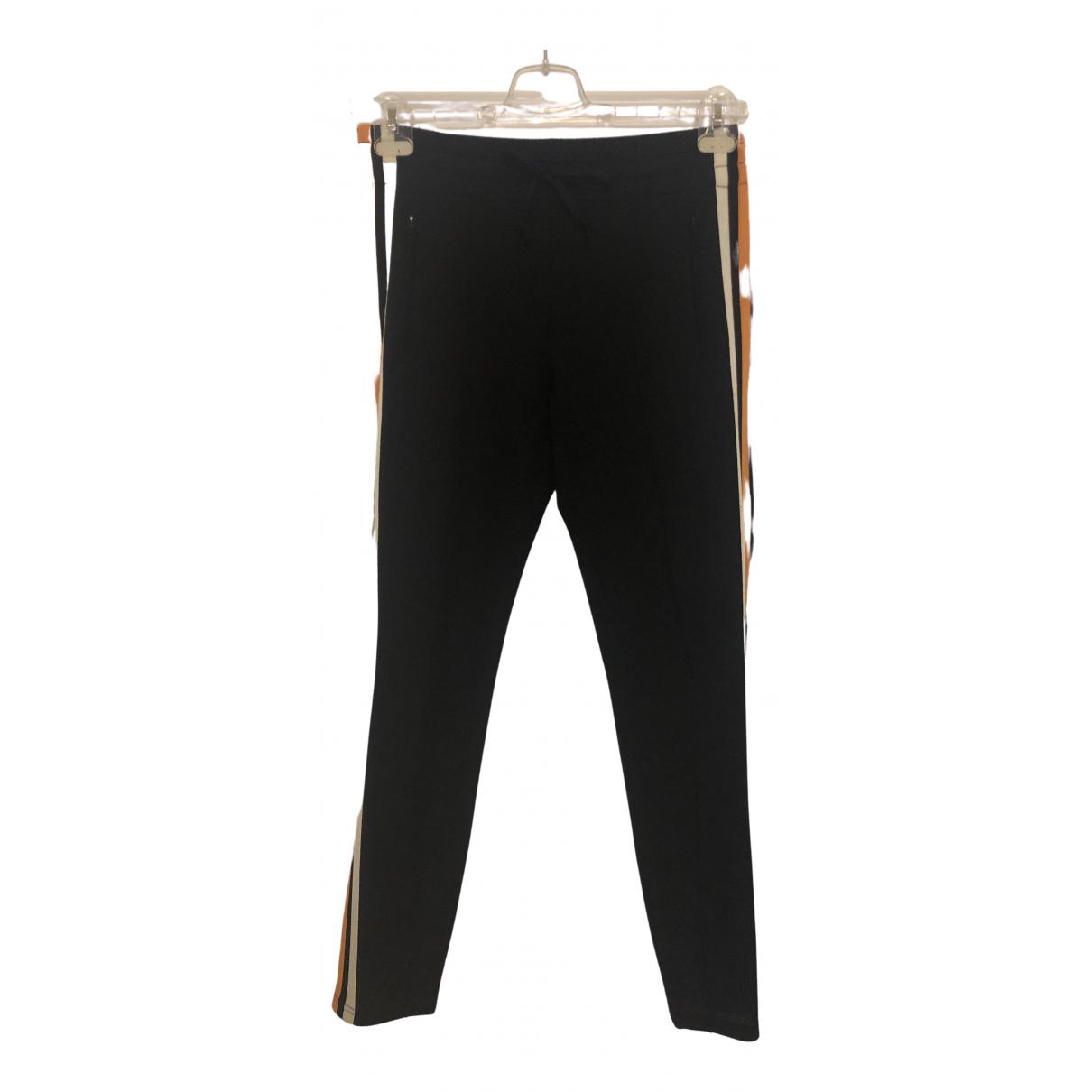 Pantalon en Viscosa Negro Isabel Marant Etoile