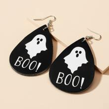 Halloween Ohrringe mit Wassertropfen Dekor