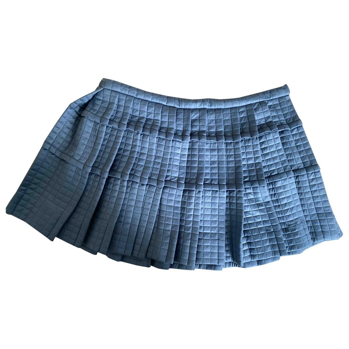 Balenciaga \N Blue skirt for Women 40 IT