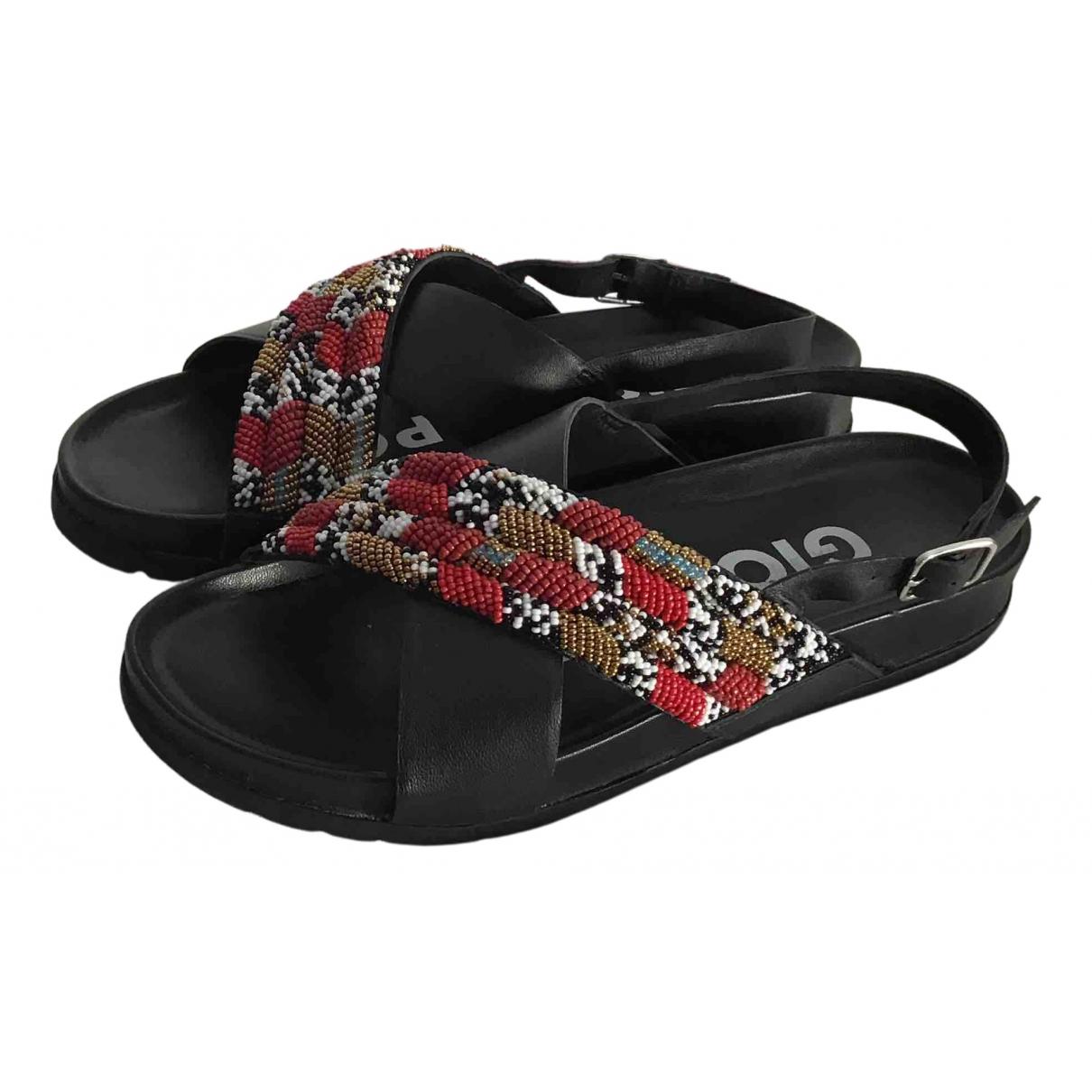 Gioseppo \N Sandalen in  Schwarz Leder