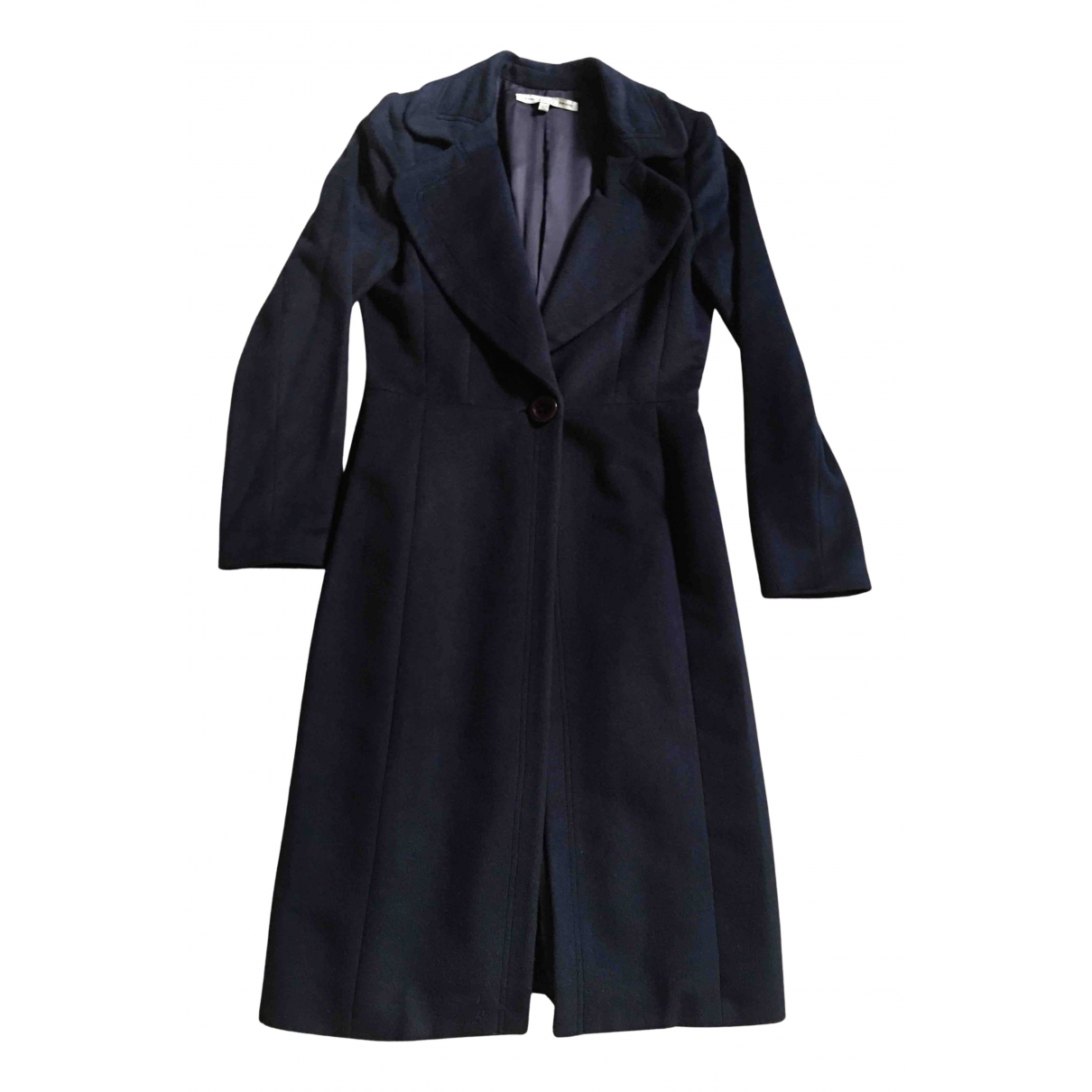 Gianfranco Ferré N Blue Cashmere coat for Women 42 IT