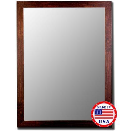 256002 28 x 40 Brazil Walnut Framed Wall