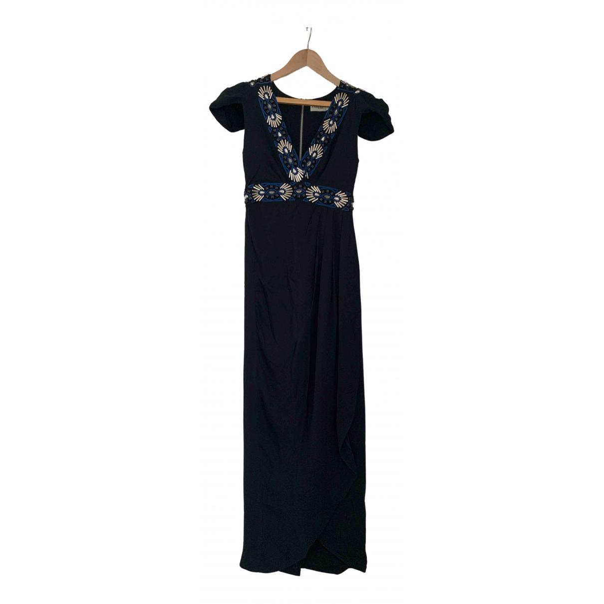 Alice By Temperley - Robe   pour femme en soie - noir