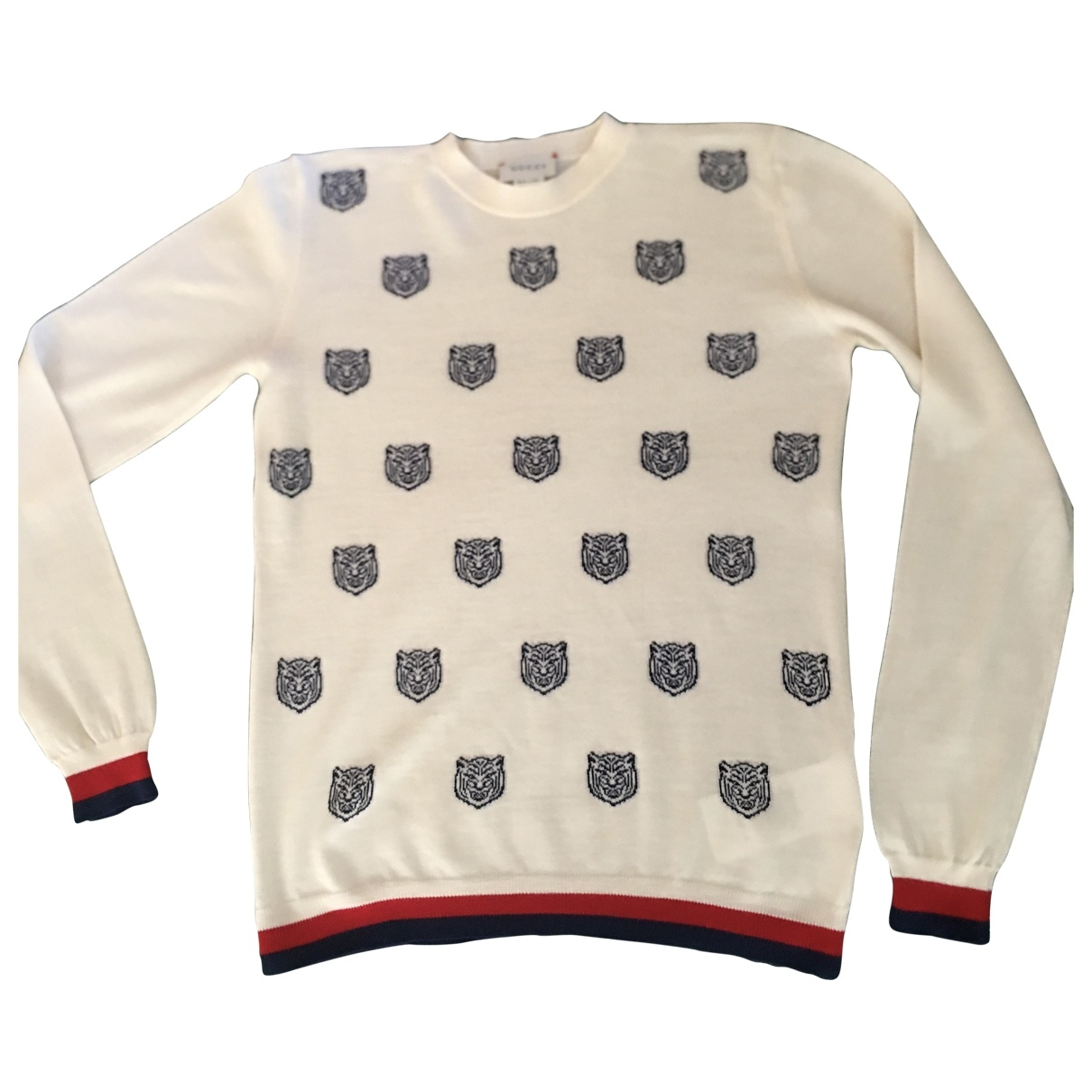 Gucci \N White Wool Knitwear for Kids 12 years - XS UK