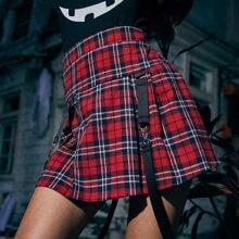 Tartan Tape Skirt