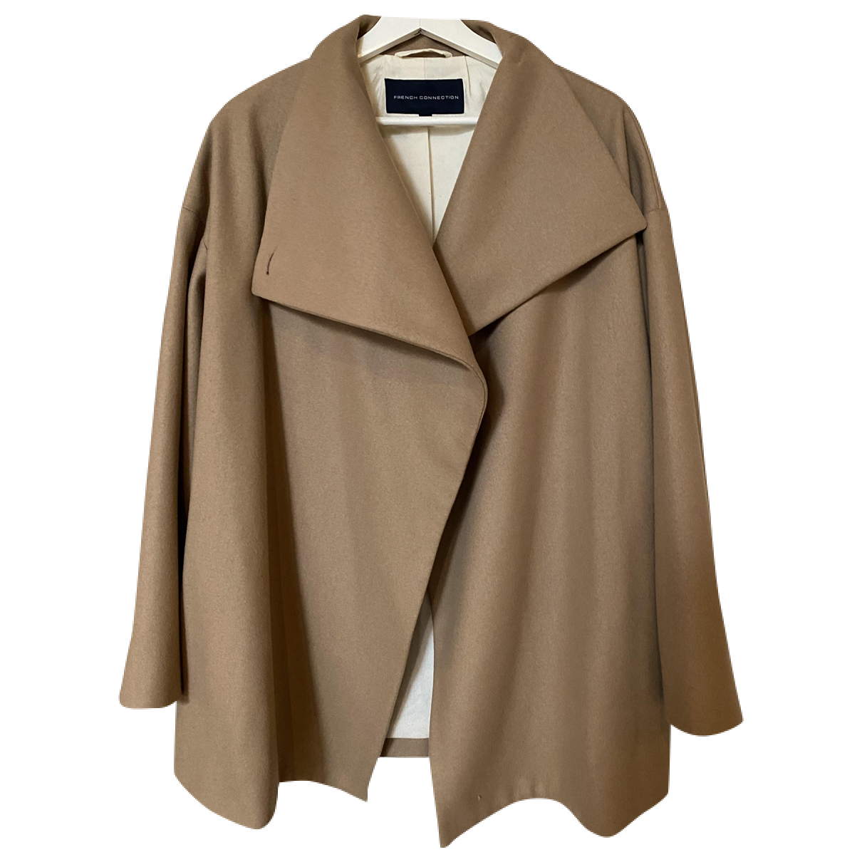 French Connection N Camel Wool coat for Women 38 FR