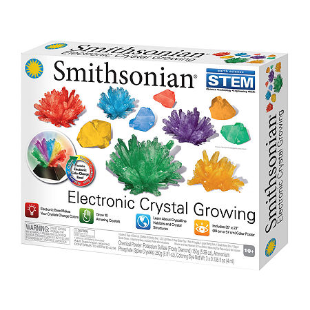 Nsi Smithsonian Crystal Growing Kit, One Size , Multiple Colors